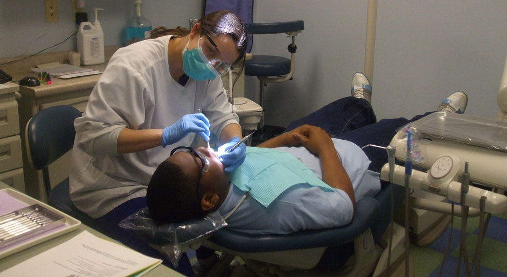 The J. C. Lewis Health Center Dental Clinic